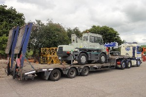 KATO CITY CRANE LOADED FOR DELIVERY TO MIDDLESBOROUGH