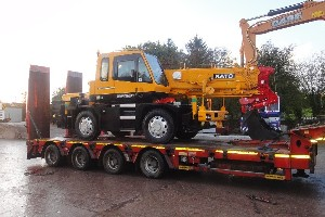 NEW KATO CITY CRANE SOLD TO GUERNSEY