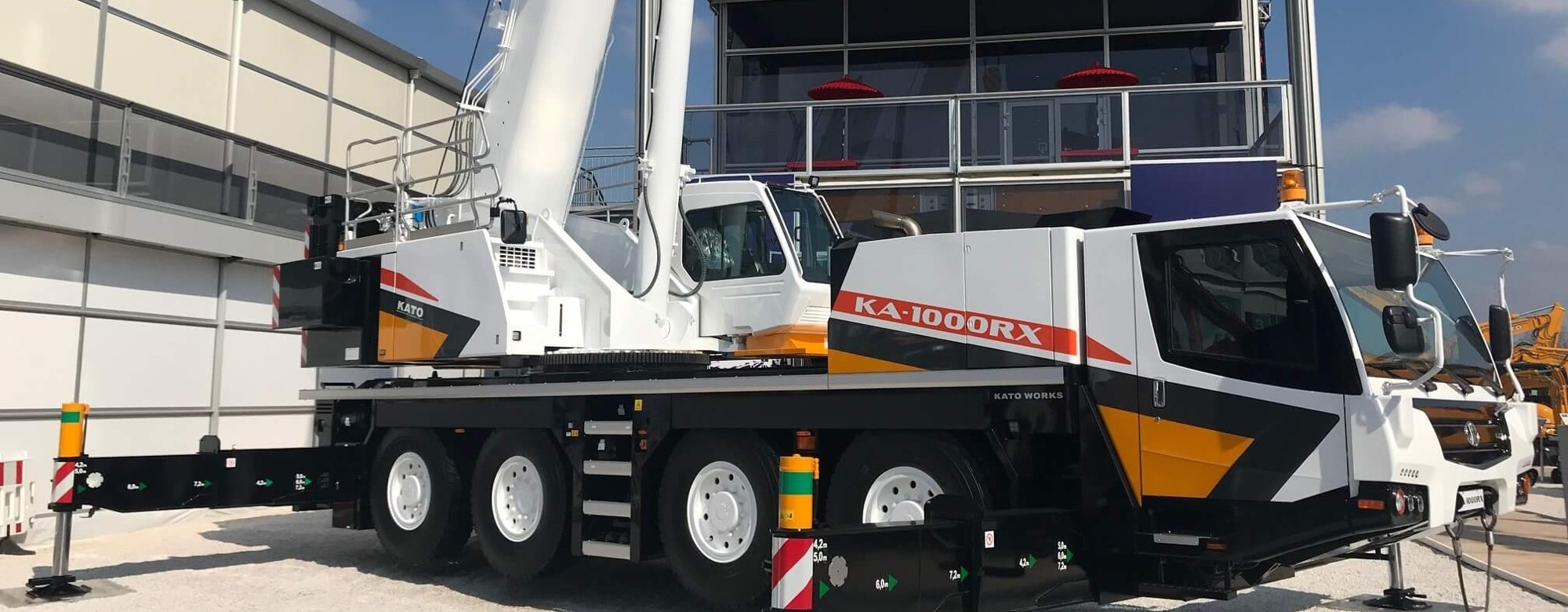 New KATO KA1000RX on display at Bauma 2019