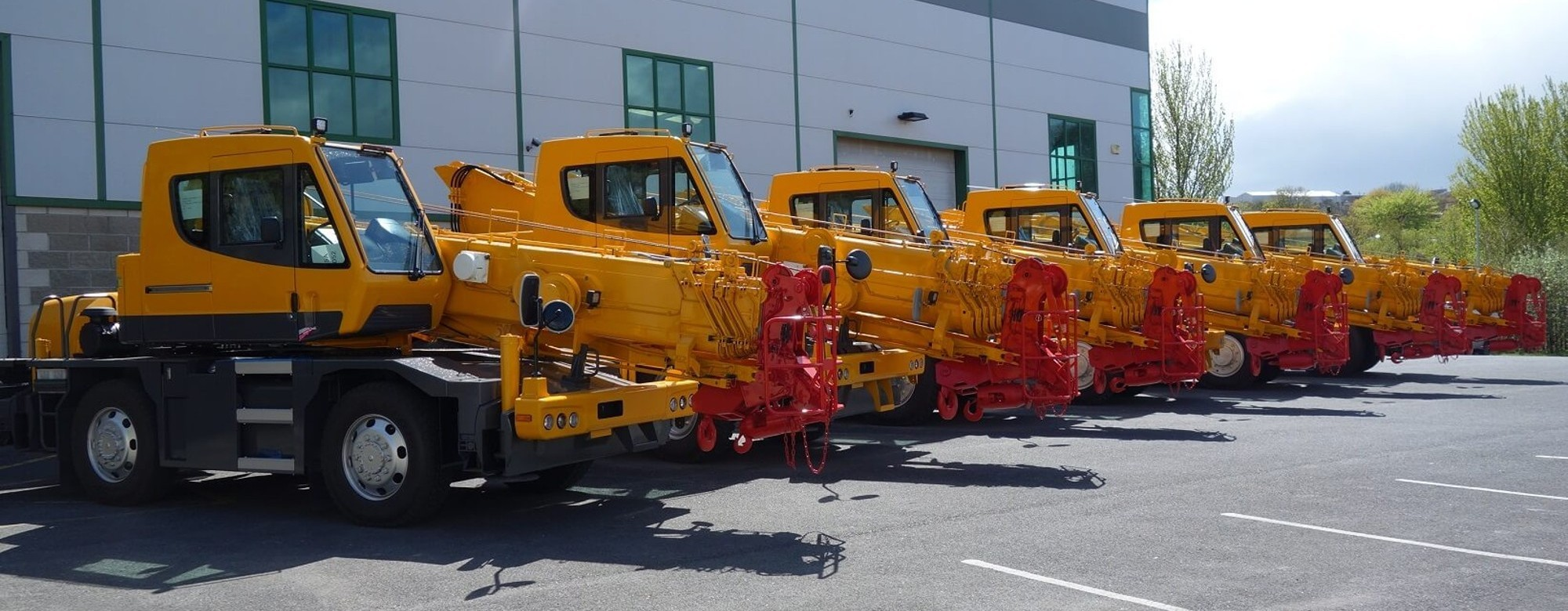 Over 100 years manufacturing cranes